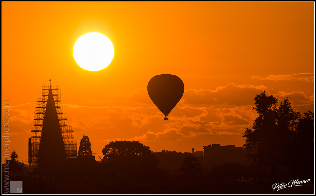 av ga edds hotairballon sunset