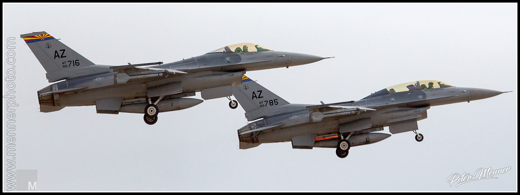 Two F-16
